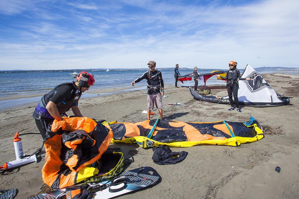 Initiation-au-kitesurf-preparation