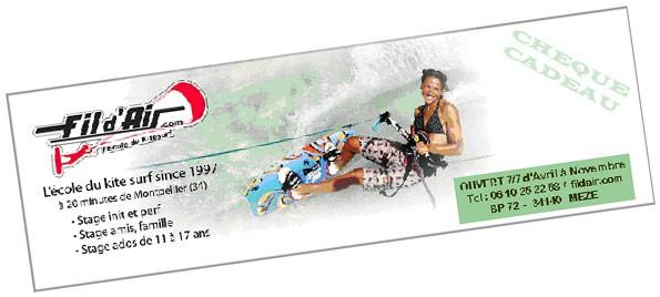 a7c22fc4fa6b Offrir un bon cadeaux pour un stage de kitesurf à Fil d Air