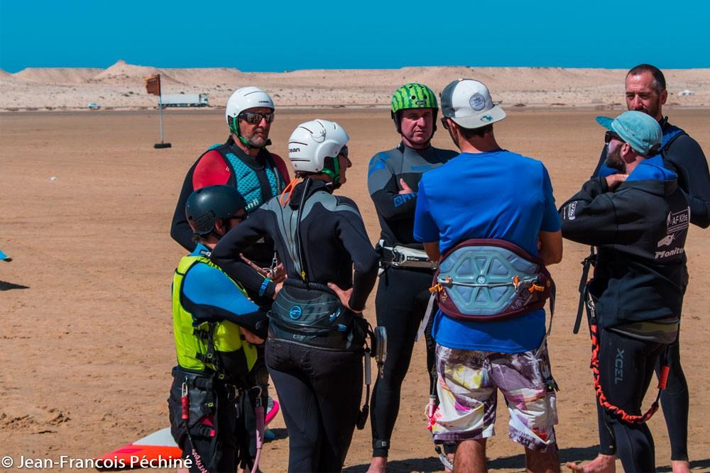 Kitesurf au Dakhla - Stage Fil d'air
