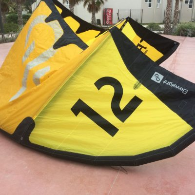 12 PS Eleveight 2018 aile de kite surf