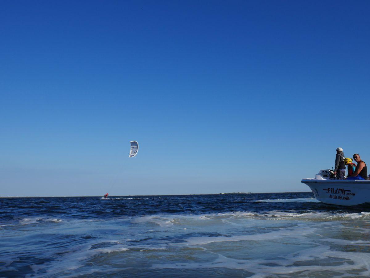 Bodydrag kite bassin de Thau