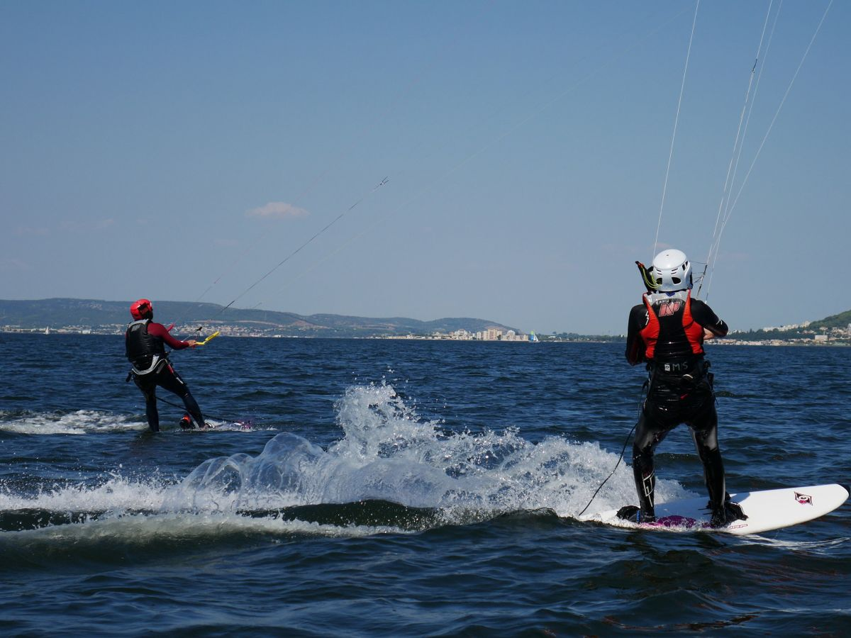 Navigation kitesurf école