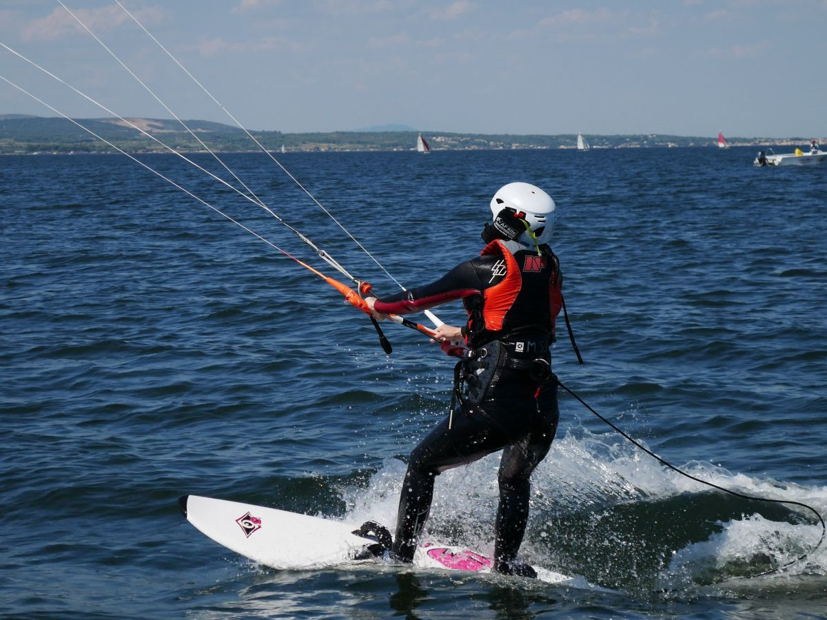 Kitesurf cours particulier avec L'école Fildair