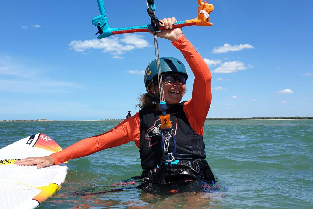 kitesurf à Galinhos Fildair Brésil